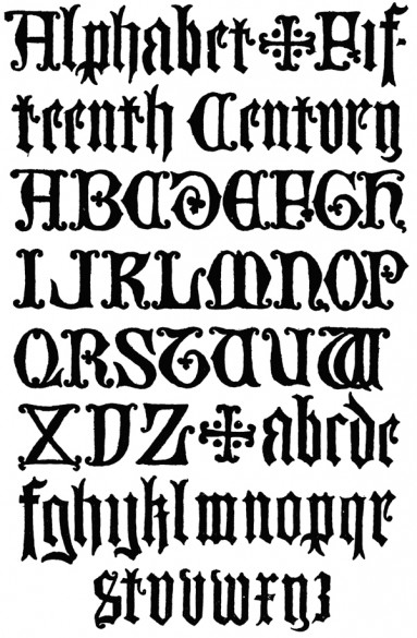 Tipografñia medieval