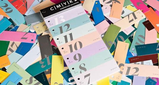 Calendario CYMK